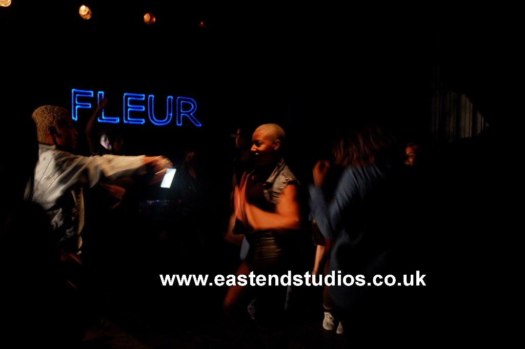 artists-name-written-with-laser-lights-at-east-end-studios