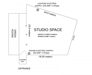 Film Studio London - Floor Plan